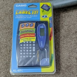 Other - Casio Label Maker